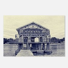 Boathouse 2 Postcards (Package of 8)