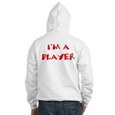 I'm a women's rugby player! Hoodie