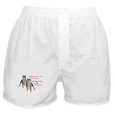 Pitbulls Make Life Whole Boxer Shorts