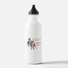 Pitbulls Make Life Who Water Bottle