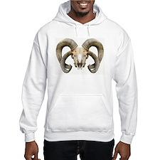 4 Horn Sheep Skull Hoodie