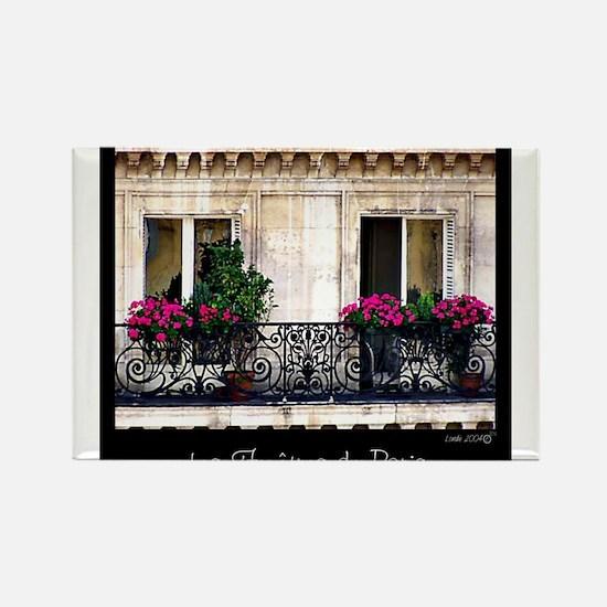 Parisian Window & Balcony Magnets