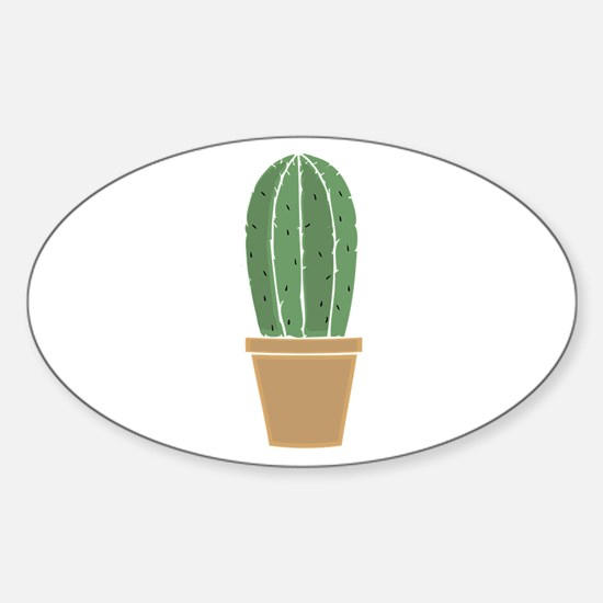 Potted Cactus Decal