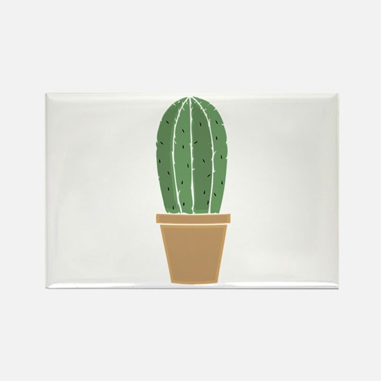 Potted Cactus Magnets