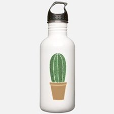 Potted Cactus Water Bottle