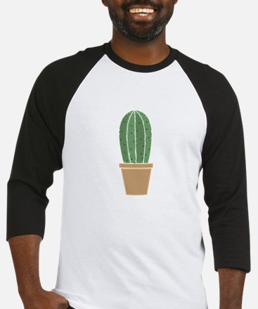 Potted Cactus Baseball Jersey