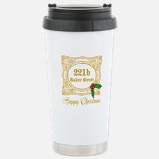 Baker Street Christmas Travel Mug