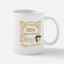 Baker Street Christmas Mugs