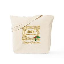 Baker Street Christmas Tote Bag
