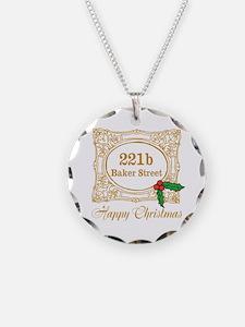 Baker Street Christmas Necklace