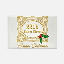 Baker Street Christmas Magnets