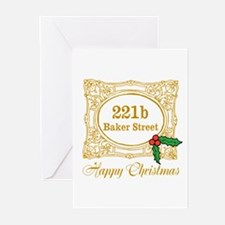 Baker Street Christmas Greeting Cards