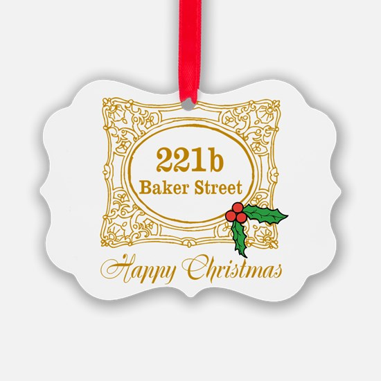 Baker Street Christmas Ornament