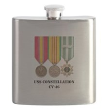 USS Constellation Flask