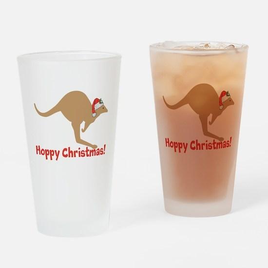 Aussie Christmas Drinking Glass