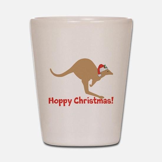 Aussie Christmas Shot Glass