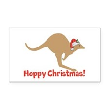 Aussie Christmas Rectangle Car Magnet