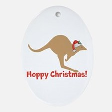Aussie Christmas Ornament (Oval)