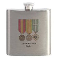 USS Cacapon Flask