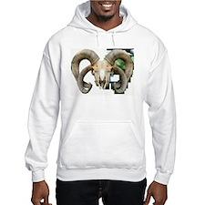 4 Horn Sheep Montage Hoodie