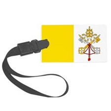 Vatican City Flag Luggage Tag