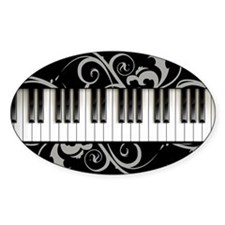 Piano Keyboard Decal