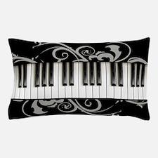 Piano Keyboard Pillow Case