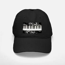 Piano Keyboard Baseball Cap