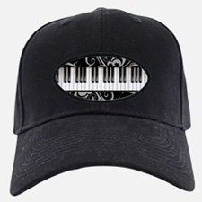 Piano Keyboard Baseball Hat