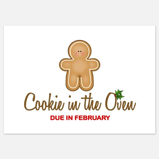 Cookie Due February Invitations