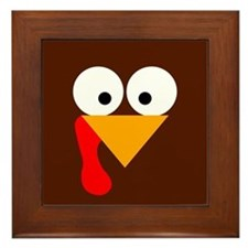 Turkey Face Framed Tile