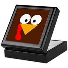 Turkey Face Keepsake Box
