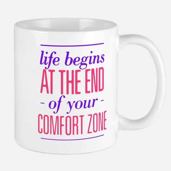 Life Begins - Pink/Purple Mugs