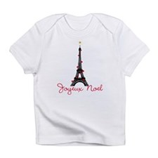 Paris Christmas Infant T-Shirt