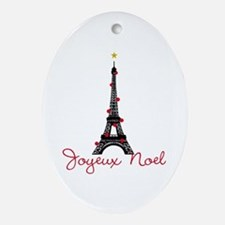 Paris Christmas Ornament (Oval)