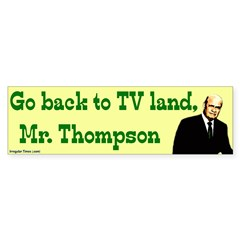 Go Back to TV Land Fred Thompson