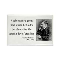 Nietzsche 26 Rectangle Magnet (100 pack)