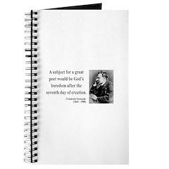 Nietzsche 26 Journal