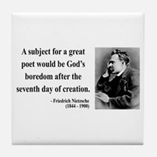 Nietzsche 26 Tile Coaster