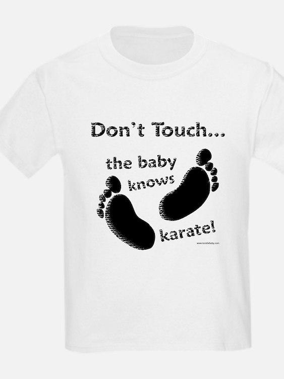 Karate Baby Black T-Shirt