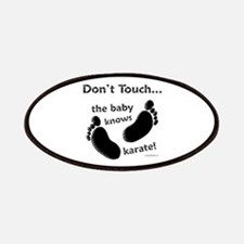 Karate Baby Black Patch