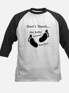 Karate Baby Black Tee