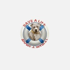 Life Preserver Fawn Pitbull Mini Button (100 pack)