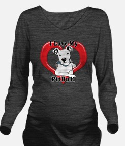 I love my Pitbull lo Long Sleeve Maternity T-Shirt