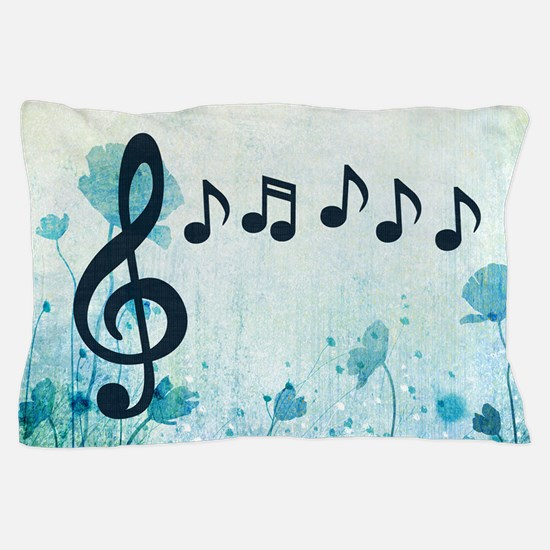 Musical Garden Pillow Case