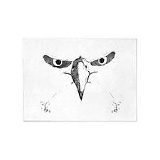 Eagle Eyes 5'x7'Area Rug