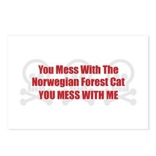 Mess With Wegie Postcards (Package of 8)