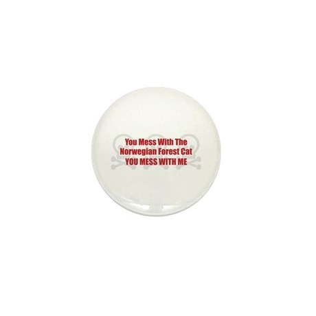 Mess With Wegie Mini Button (10 pack)