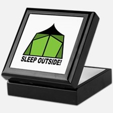 Sleep Outside Keepsake Box