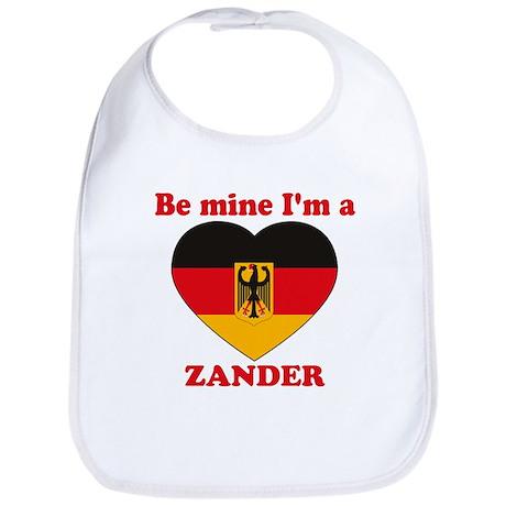 Zander, Valentine's Day Bib